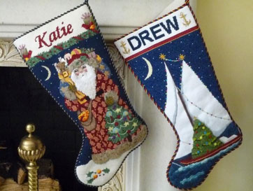 DJ Designs NY Stocking